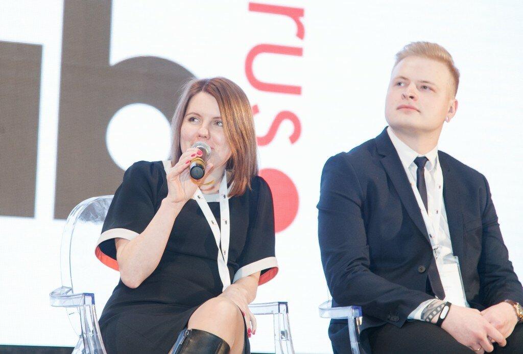 Ксения Иванова (Tut.by), Артем Рабцевич (Onliner)
